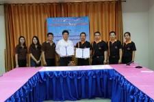 MOU โครงการพัฒนาเครือข่ายพี่เลี้ยงอุดมศึกษา วิทยาลัยเวียงป่าเป้า