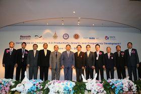รูปภาพ : มทร.ล้านนา จับมือ สคช. และนานาชาติ จัดเวิร์คชอปมาตรฐานอาชีพผลิตบุคลากร สาขาแมคคาทรอนิกส์ ต่อยอดนโยบายรัฐบาลขับเคลื่อนประเทศไทยสู่สังคมเศรษฐกิจดิจิตอลรองรับอุตสาหกรรม 4.0