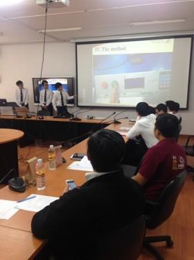 รูปภาพ : คณะวิศวกรรมศาสตร์ มหาวิทยาลัยเทคโนโลยีราชมงคลล้านนา สอบปริญญานิพนธ์นักศึกษาแลกเปลี่ยนโครงการพัฒนาความร่วมมือทางด้านวิชาการร่วมมือ HCMUTE