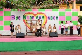 รูปภาพ : ร่วมกิจกรรม Bye Nior SAP  ABCM