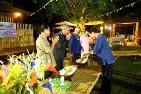 รูปภาพ : มทร.ล้านนา ร่วมกับเครือข่าย 12 สถาบันอุดมศึกษาในจังหวัดเชียงใหม่ร่วมสืบสานประเพณีไทยในเทศกาลสงกรานต์