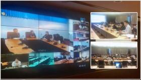 รูปภาพ : อมทร.ล และรองแผนฯ มอบ สวส. จัดประชุม Conference 6 พท. แก้ปัญหา ERP.