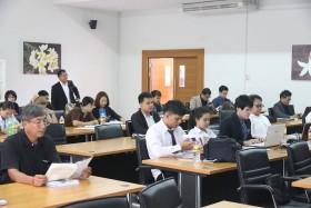 รูปภาพ : ประชุมสัมมนาเชิงปฏิบัติการ การนำเสนอผลการดำเนินงานโครงการยกระดับคุณภาพชีวิตชุมชนและภาคอุตสาหกรรม