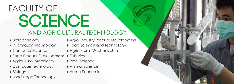 คณะวิทยาศาสตร์และเทคโนโลยีการเกษตร