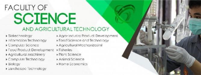 คณะวิทยาศาสตร์และเทคโนโลยีการเกษตร มหาวิทยาลัยเทคโนโลยีราชมงคลล้านนา