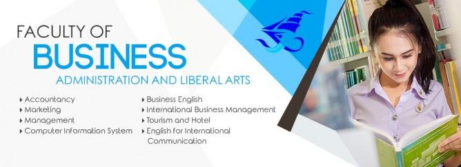 คณะบริหารธุรกิจและศิลปศาสตร์