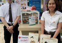 รูปภาพ : นักศึกษาวิชาเอกเทคโนโลยีบรรจุภัณฑ์ เจ้าของรางวัล ThaiStar/AsiaStar Packaging
