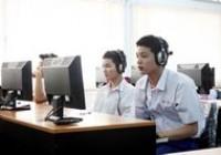 รูปภาพ : สำนักวิทยบริการฯ จัดการเรียนการสอนโปรแกรมพัฒนาทักษะภาษาอังกฤษ แบบออนไลน์ (Tell Me More Online) ให้กับนักศึกษาใหม่