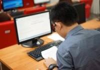 รูปภาพ : การทดสอบหลักสูตร Word Processing และ Spreadsheets รุ่นที่ 3