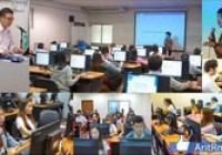 รูปภาพ : นักเทคโนฯ วิทยบริการฯ บรรยายฯ Excel และ World แก่ นศ.ภาษาอังกฤษธุรกิจ ก่อนออกสหกิจศึกษา