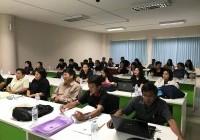 รูปภาพ : โครงการแลกเปลี่ยนเรียนรู้วิธีการเขียนรายงานการประเมินตนเอง(SAR)