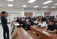 รูปภาพ : ประชุมหารือคณะกรรมการจัดพิธีซ้อมย่อยการรับพระราชทานปริญญาบัตรและถ่ายรูปหมู่ ประจำปีการศึกษา 2559