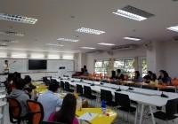 รูปภาพ : ประชุมคณะกรรมการฝ่ายพิธีการ/คณะกรรมการมอบเหรียญรางวัลและของที่ระลึกการแข่งขันกีฬามหาวิทยาลัยเทคโนโลยีราชมงคล แห่งประเทศไทยครั้งที่ 34