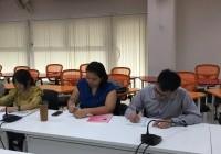 Image : ประชุมติดตามผลการดำเนินงานฯ