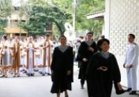 รูปภาพ : พิธีซ้อมย่อยการรับพระราชทานปริญญาบัตรและถ่ายรูปหมู่ ประจำปีการศึกษา 2560