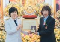 """Image : บรรณารักษ์ วิทยบริการฯ รับรางวัล สรรเสริญ """"เพชรราชมงคล ปีการศึกษา 61"""""""