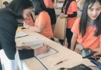 """Image : ผอ.วิทยบริการฯ พร้อมด้วยบุคลากร ร่วมงาน """"38th WUNCA@PKRU"""""""