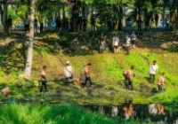 Image : บุคลากร วิทยบริการฯ ร่วมฯ โครงการ จิตอาสาเราทำความดีด้วยหัวใจ คืนน้ำใส คูเวียงเจ็ดลิน