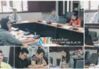 Image : ผอ.วิทยบริการฯ พร้อมด้วยบุคลากร ร่วมประชุมวางแผนและกำหนดการสอบมาตรฐาน ICT สำหรับ นศ.