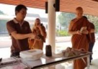 รูปภาพ : 2 เม.ย.62: ต้อนรับคณะสามเณรโครงการลูกแก้วอนุรักษ์ถิ่นไทย รุ่นที่ 5/2562 วัดถ้ำแกลบ