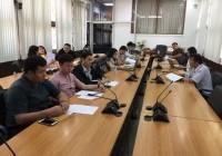 รูปภาพ : ประชุมคณะทำงานบริการความเสี่ยงระดับคณะและระดับมหาวิทยาลัย