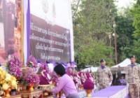 รูปภาพ : พิธีถวายพานพุ่ม สักการะเทิดพระเกียรติ สมเด็จพระเทพรัตนราชสุดาฯ สยามบรมราชกุมารี เนื่องในวันคล้ายวันพระราชสมภพ วันที่ ๒ เมษายน ๒๕๖๒