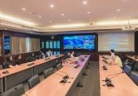 Image : ผอ.วิทยบริการฯ ประชุมร่วม VDO Conference การดำเนินงานด้านระบบสารบรรณอิเล็กทรอนิกส์ หน่วยงานภายใน มทร.ล ๖ พื้นที่
