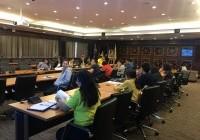 รูปภาพ : ประชุมการจัดทำรายงานการประเมินตนเอง (SAR) ระดับสถาบัน ปีการศึกษา 2561