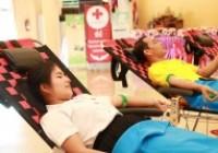 รูปภาพ : มทร.ล้านนา ลำปาง ร่วมกับเหล่ากาชาดจังหวัดลำปางและ รพ.มะเร็งลำปาง เปิดหน่วยรับบริจาคโลหิตช่วยเพื่อนมนุษย์ Give  Blood  Save Life 11กค62