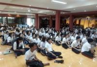รูปภาพ : โครงการอบรมจริยธรรมนักศึกษาใหม่ ประจำปีการศึกษา 2562