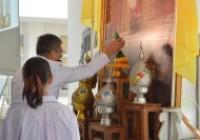 รูปภาพ : ถวายพระพรชัยมงคลพระบาทสมเด็จพระเจ้าอยู่หัวรัชกาลที่10ประจำปี2562