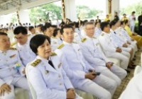 รูปภาพ : พิธีเนื่องในโอกาสวันเฉลิมพระชนมพรรษาพระบาทสมเด็จพระเจ้าอยู่ วันที่ 28 กรกฎาคม 2562