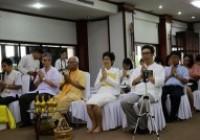 Image : ศูนย์วัฒธรรมศึกษา จัดกิจกรรมไหว้พระสวดมนต์ และฟังพระธรรมเทศนา เนื่องในเทศกาลเข้าพรรษา