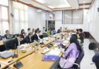 รูปภาพ : ประชุมกองบรรณาธิการผู้ทรงคุณวุฒิประจำวารสารวิชาการรับใช้สังคม ครั้งที่2/2562