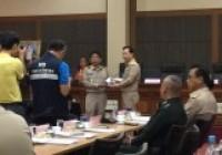 รูปภาพ : ผู้ช่วยอธิการบดี มทร.ล้านนา เชียงราย เข้าร่วมประชุมหัวหน้าส่วนราชการประจำจังหวัดเชียงราย ครั้งที่ 8/2562