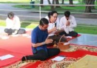 รูปภาพ : มทร.ล้านนา เชียงราย จัดกิจกรรมส่งเสริมพระพุทธศาสนาสวดมนต์ทำวัตรเช้า ทำบุญตักบาตรและฟังเทศน์พื้นเมืองชาดกเนื่องในเทศกาลเข้าพรรษา สัปดาห์ที่ 7