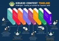รูปภาพ : เข้ารอบสุดท้ายkrukidcontest2019