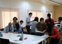 Image : คณะบริหารธุรกิจฯ จัดอบรม Train the Trainers and Team Based Teaching