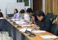 Image : งานวิชาการ จัดการประชุมคณะกรรมการพิจารณาผลการศึกษา ประจำภาคเรียนที่ 1/2562