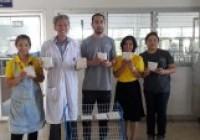 รูปภาพ : มทร.ล้านนา ลำปาง ร่วมต้อนรับทีมงานบริษัทหงส์ฟ้า ฟู๊ด โปรดัคส์ เอ็กซ์ปอร์ต อิมปอร์ต จำกัด พร้อมสานต่อการทำถั่วเหลืองหมักเตมเปเชิงพาณิชย์18พย62