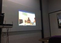 รูปภาพ : นักศึกษา กองทุน กสศ. เข้ารับการสัมภาษณ์งานจากบริษัท เบทาโกร จำกัด (มหาชน) ผ่านระบบ VDO conference