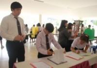 รูปภาพ : การจัดแสดงนิทรรศการและนวัตกรรมของนักศึกษา ประจำภาคเรียนที่ 2