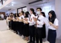 รูปภาพ : พิธีเปิดนิทรรศการนักศึกษาแลกเปลี่ยน Guangxi Normal University (GXNU)