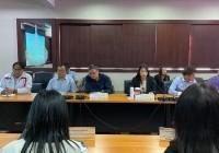 รูปภาพ : การประชุมร่วมกับผู้แทนจากบริษัท Quanta Computer ไต้หวัน