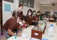 Image : คณะวิทยาศาสตร์จัดอบรมเจลล้างมือ