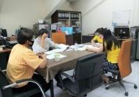 รูปภาพ : ประชุมภายในสำนักงานศูนย์วัฒนธรรมศึกษา (27 เม.ย. 2563)