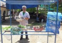 Image : อาจารย์คณะวิทย์ฯ มทร.ล้านนา ลำปาง  เป็นวิทยากรอบรมแปรรุปผักและสมุนไพรอบแห้ง16พค63