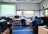 Image : อบรมครูเครือข่ายสเต็มศึกษา ภายใต้โครงการพัฒนาศักยภาพเครือข่ายอุดมศึกษาพี่เลี้ยง ด้าน IOT