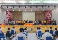 รูปภาพ : ปฐมนิเทศนักศึกษากองทุน กสศ. ระดับ ปวช. ประจำปีการศึกษา 2563