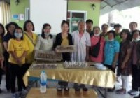 Image : อาจารย์สาขาอุตสาหกรรมเกษตร มทร.ล้านนา ลำปาง เป็นวิทยากรอบรมทำผลิตภัณฑ์จากผึ้ง 3 กค63